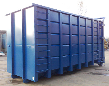 Open Hook-Lift & Cable-Lift Waste Container