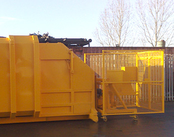 Portable Waste Compaction Container