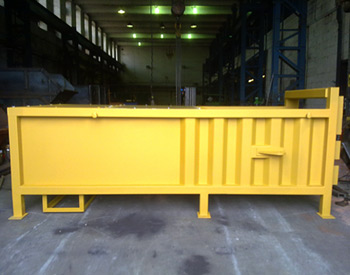 Skip Lift Compaction Waste Container