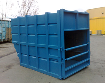 Skip-Lift Waste Compaction Container